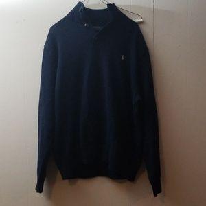 Polo Ralph Lauren 1/4 button up sweater